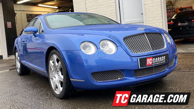 Bentley at TC Garage