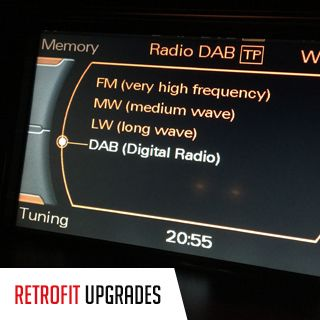 Retrofit DAB Upgrade by TC Garage