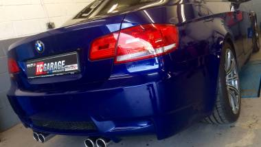 BMW M3 E90 on arrival at TC Garage.
